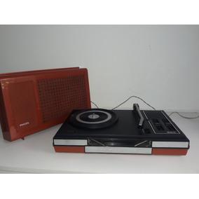 Toca Disco Antigo Philips - Vitrolas no Mercado Livre Brasil 4034f9f830e