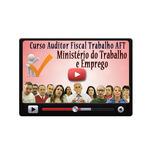 Pacote Aulas Concurso Mte Auditor Fiscal Trabalho Aft