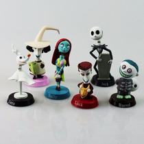The Nightmare Before Christmas - Set De 6 Figuras Sally Zero