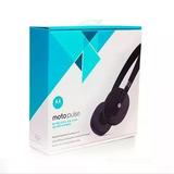 Fone Motorola Moto Pulse Stereo Bluetooth Original Preto