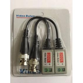 Par De Video Balun Para Camera Ahd Até 600mts Conversor Novo