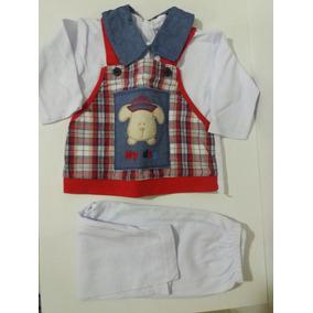 3 Conjuntos De Blusa E Calça Bebê