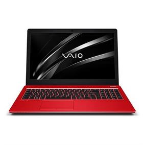Notebook Vaio Fit15s I3 4gb1tb 15.6 W10 Home Vermelho