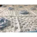 Mantas Mantillas Tejidas Artesanalmente Crochet Para Bebes