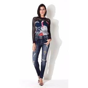 Calça Jeans Premium Morena Rosa Ref. 203115