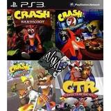 Crash Bandicoot 1, 2, 3 + Crash Team Racing Ps3 Digital