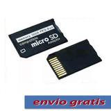 Adaptador De Memorias Micro Sd A Pro Duo Max 16 Gb