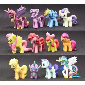 Lote De 12 Mini Bonecos My Little Poney My Pony A021