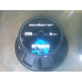 Bajos 18 Sound Barrier Dragon 2200 Watt