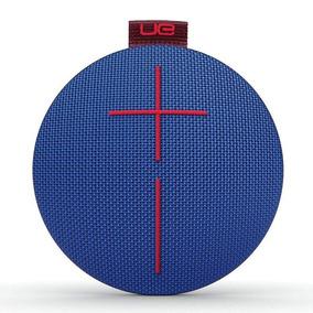 Parlante Ue Roll Bluetooth Azul Inalambrico Portatil