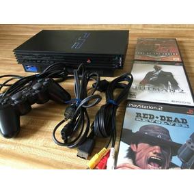 Sony Playstation 2 Ps2 Fat Negro