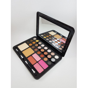 Paleta Maquiagem Jasmyne V258 [24 Sombras+4 Blushes+2 Pós]