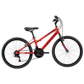 Bicicleta Aro 24 - Max - Vermelha - Caloi