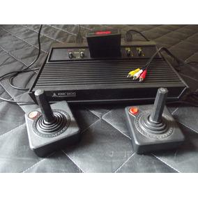 Atari 2600 Completo 2 Controles Mais Saída Av E Jogo
