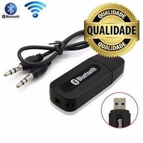 Receptor Bluetooth Usb Para Saida Auxiliar P2 Carro Som Tv