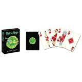 Baraja Rick Y Morty Original Poker Tarjetas Nuevo