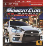 Midnight Club Los Angels Ps3 ¡ Entrego Hoy ! | Oferta!