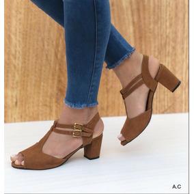Zapatos Con Tacon Cubano Ropa - Zapatos para Mujer en Mercado Libre ... 5aade856df9