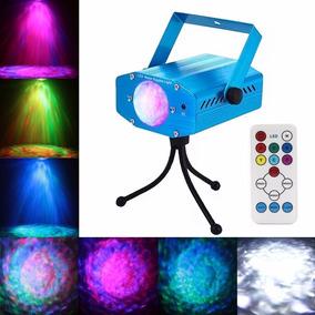 Iluminación Onda De Agua Portable 7colores Evento Dj Trípode