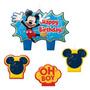 Mickey Mouse 1 1/4 Velas Moldeadas De La Tort + Envio Gratis