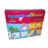 Juguete Rompecabezas De Carton De Vocales 20 Pzas