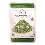 Orégano Condimento Molino Cerrillos Premium 25g Sin T.a.c.c.