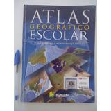 Livro Atlas Geográfico Escolar - Ibep - 1ª Edição De 2008