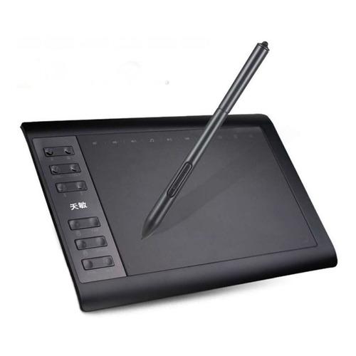 Mesa digitalizadora 10moons 1060Plus Black