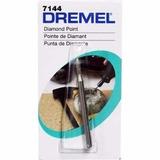 Punta De Diamante Dremel Mod 7144 3/32 Pulg 2.4mm
