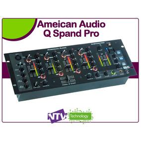 Mezclador American Audio Q Spand Pro De 4 Canales