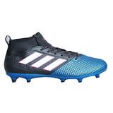 Guayos Ace 17.3 Primenesh Fg Negro Azul adidas + Cupón