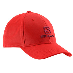Gorra Salomon Cap Unisex Rojo