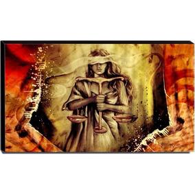 Quadro Deusa Da Justiça - Advogados - Direito - Frete Grátis
