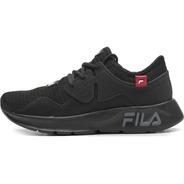 Tenis Fila Men Shoes Iconic Preto/vermelho Ref. 943939