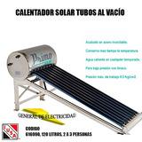 Calentador Solar 120 Litros Mca Iusa General De Electricidad