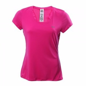 Remera Under Armour Flyweight Mujer Fucsia