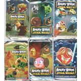Cartas Angry Birds Star Wars Brillantes X 8 Udes En Sobres