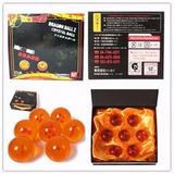 7 Esferas Con Caja 3.5cm Dragon Ball Z Super Gt Originales