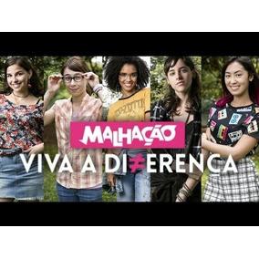 Novela Malhação 2017 Viva A Diferença Completa 31 Dvds+frete