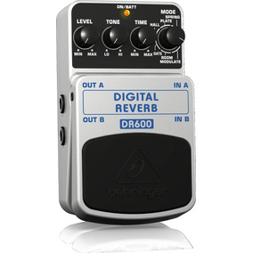 Pedal Behringer P/ Guitarra Digital Reverb Dr600