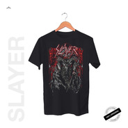 Camiseta Oficial Slayer Hd Baphomet Tour 2019