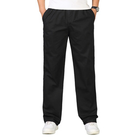 El Ejército De Pantalones De Hombre De Algodón Recta Panta