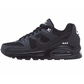 zapatillas retro running nike air max command negra/gris