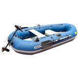 Bote De Pesca Aqua Marina 2,7m Con Motor Eléctrico Incluido