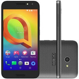 Alcatel A3 16gb Preto 4g Tela 5¿ Câmera 8mp Android 6.0