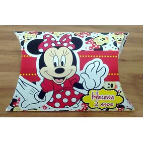 Caixa Travesseiro (pilow) Minnie Vermelha