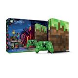 Consola Xbox One S Microsoft + Minecraft Edicion Limitada