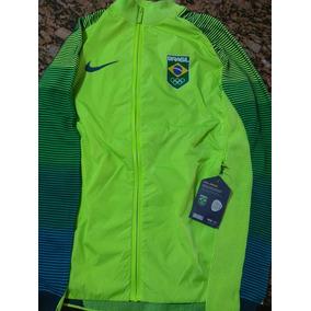 Casaco Nike Time Brasil Rio 2016 Raridade (made In Italy) 17fd694f95210