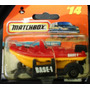 Matchbox Lancha Mattel Rapids Raft Con Trailer14 Metal Rdf1