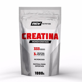 Creatina Monohidratada - 1000g - Rev Nutrition